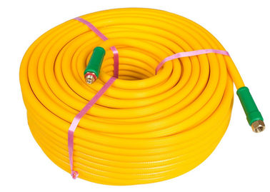 Good Quality PVC Water Hose & Yellow Chemical Sprayer Hose , Agriculture PVC Pipe For Chemical Water Delivery on sale