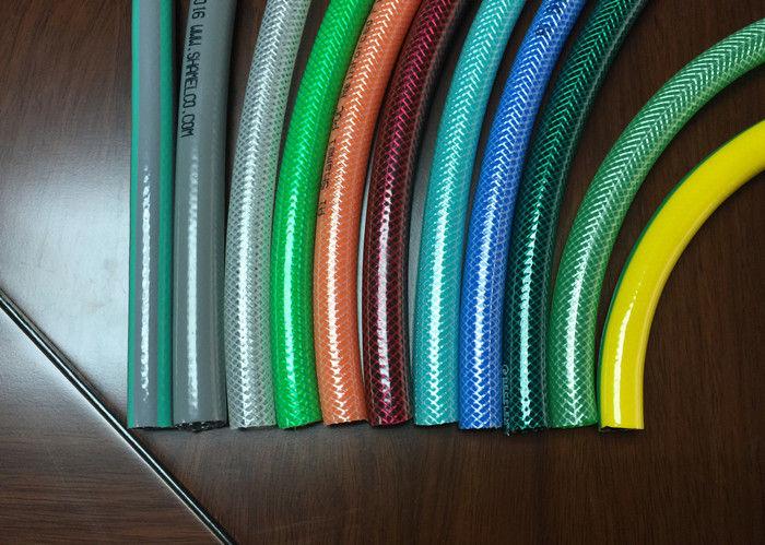 5/8 Inch 15mm Garden PVC Hose / Plastic Soft Fiber Reinforced Pipe ...