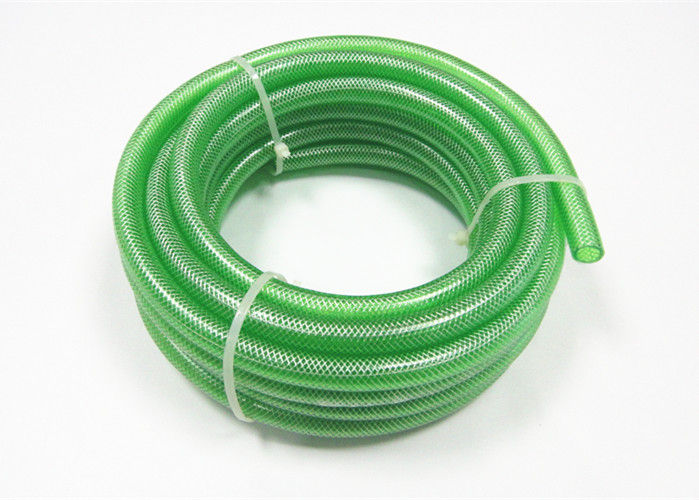 PVC Clear Nylon Braided Hose Flexible Plastic Fiber Reinforced Hose