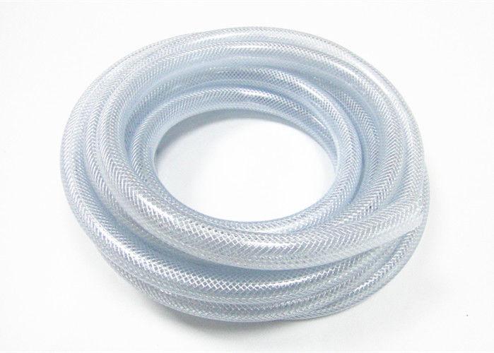 Flexible Plastic Chemical Nylon Braided Hose , Clear Braided Hose ...