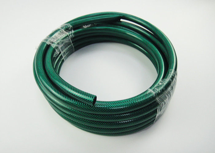 15 Metre Reinforced Garden Hose Pipe With Fittings Water Washing Home Flexible