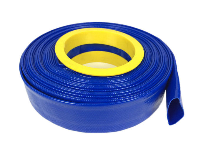 High Pressure Flexible Hose , PVC Layflat Pump Water Hose / Pipe / Tube For Washing Drain