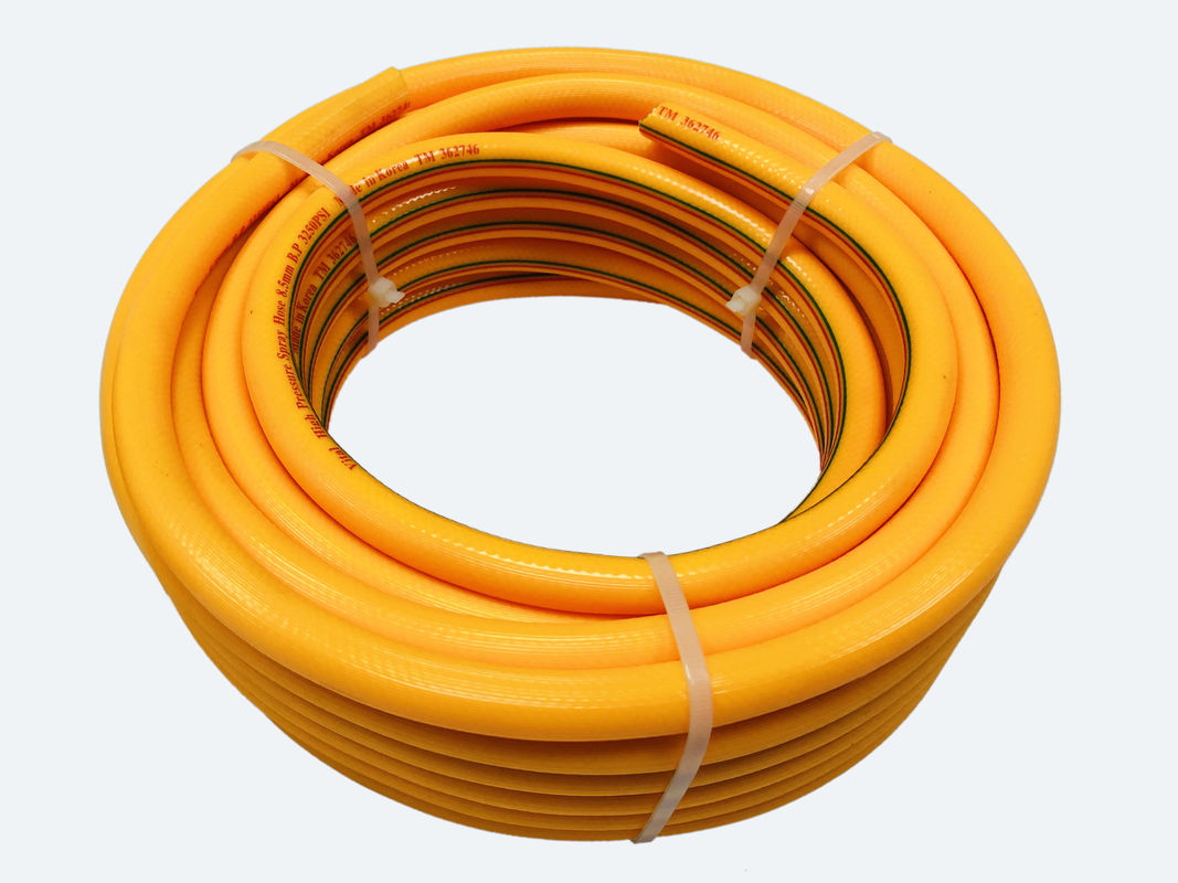 "5//8/"" ID 30 Ft High Pressure Braided Tubing Clear Hose Braid Reinforced Water"