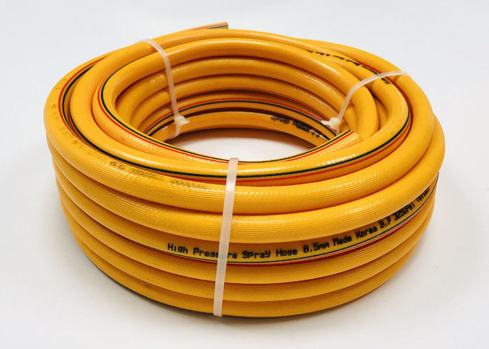 China 8 5mm soft pvc high pressure explosion resistant agricultural spray  hose pipe price