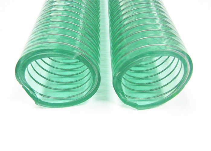 1 Steel Wire Reinforced Clear Plastic Vinyl Flexible PVC Tubing Hose 25 Ft