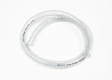 Multipurpose PVC Steel Wire Hose , Flexible Wire Reinforced Suction Pipe