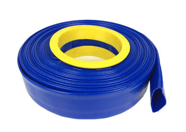 Standard Pressure Flexible Hose , PVC Layflat Pump Water Hose / Pipe / Tube For Washing Drain