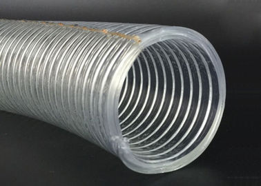 PVC Petroleum Discharge Hose Plastic Anti Static Steel Wire Reinforced Hose