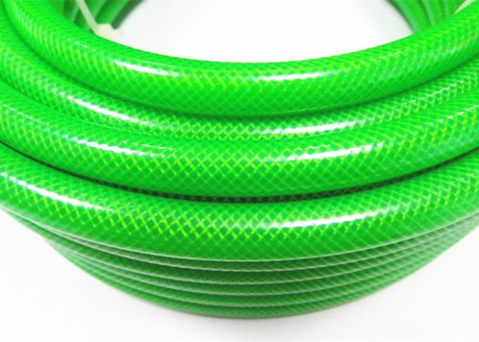 Transparent PVC Braided Hose Pipe Plastic Tubing With Flexible All Seasons