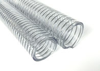 High Pressure PVC Steel Wire Hose / Wire Reinforced Suction Hose UV Chemical Resistant