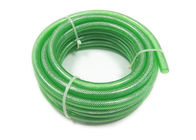 Fiber Clear Braided Pvc Tubing , Plastic Reinforced Hose Explosion Proof